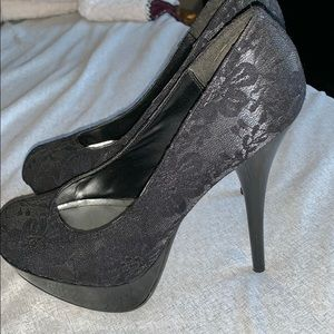BAMBOO Shoes - Stiletto Platform Heels